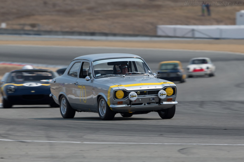 Ford Escort - Chassis: GBATJPB7906 - Driver: Roland Malschafsky  - 2016 Monterey Motorsports Reunion