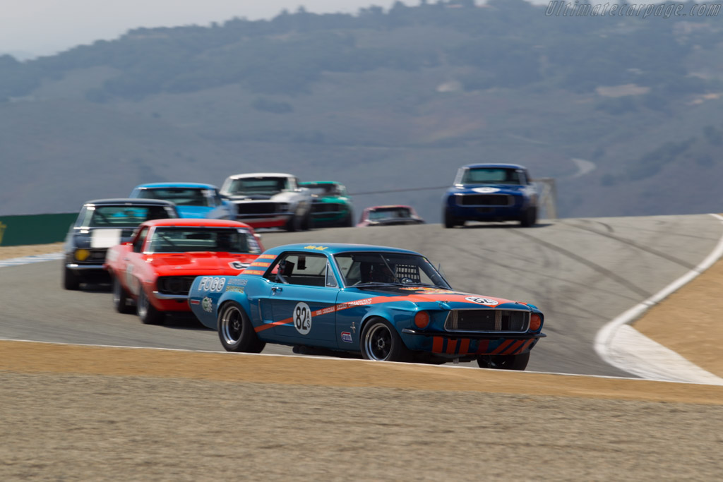 Ford Mustang - Chassis: 9T02F172108 - Driver: Steve Barber  - 2016 Monterey Motorsports Reunion