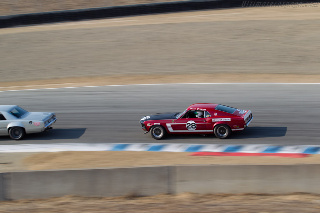 Ford Mustang Boss 302  - Driver: Chad Parrish  - 2016 Monterey Motorsports Reunion