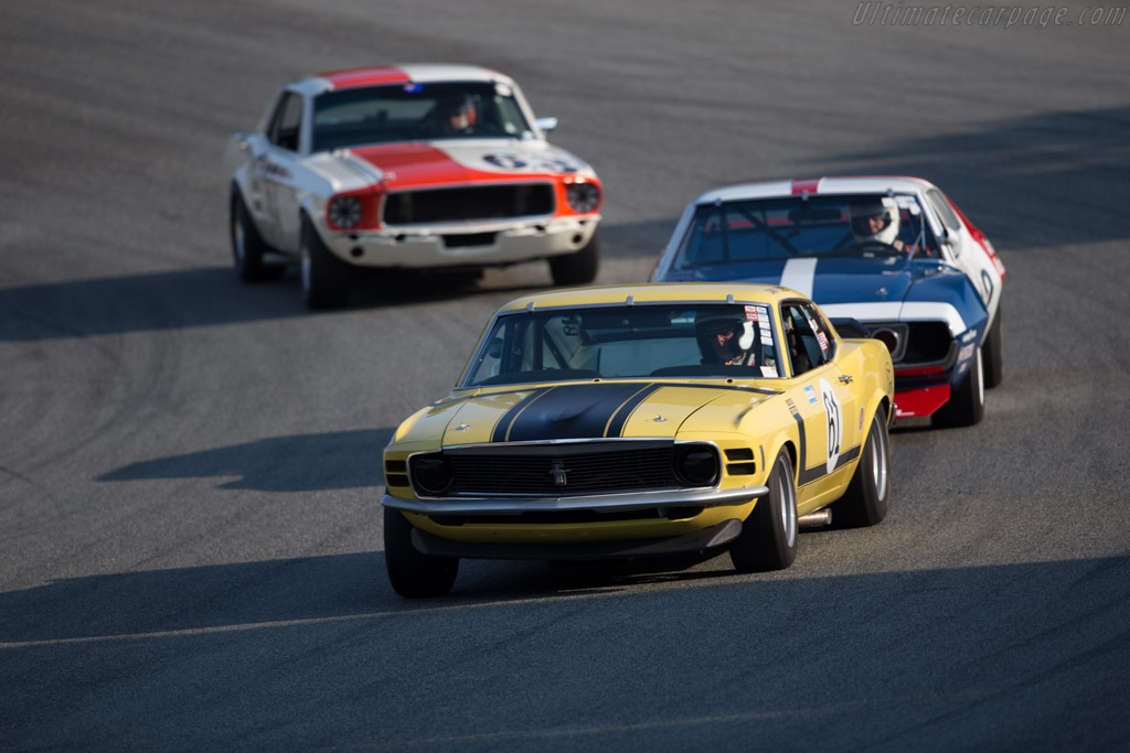 Ford Mustang Boss 302 - Chassis: 0F026144375 - Driver: Jim Halsey  - 2016 Monterey Motorsports Reunion