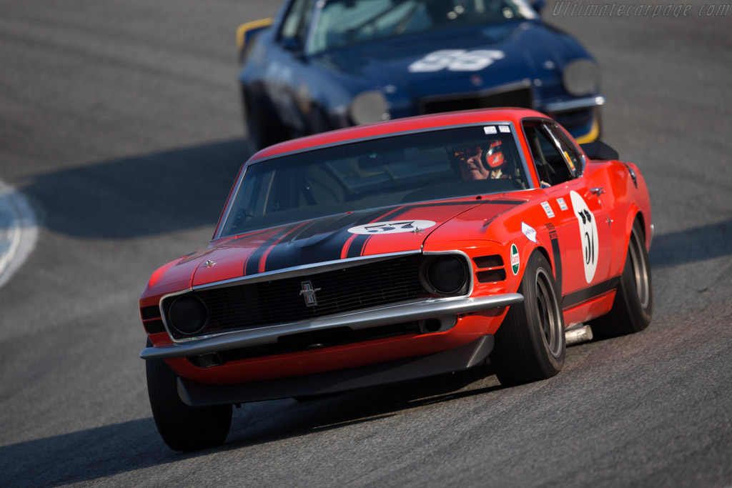Ford Mustang Boss 302 - Chassis: 0FO2G129326 - Driver: Forrest Straight  - 2016 Monterey Motorsports Reunion
