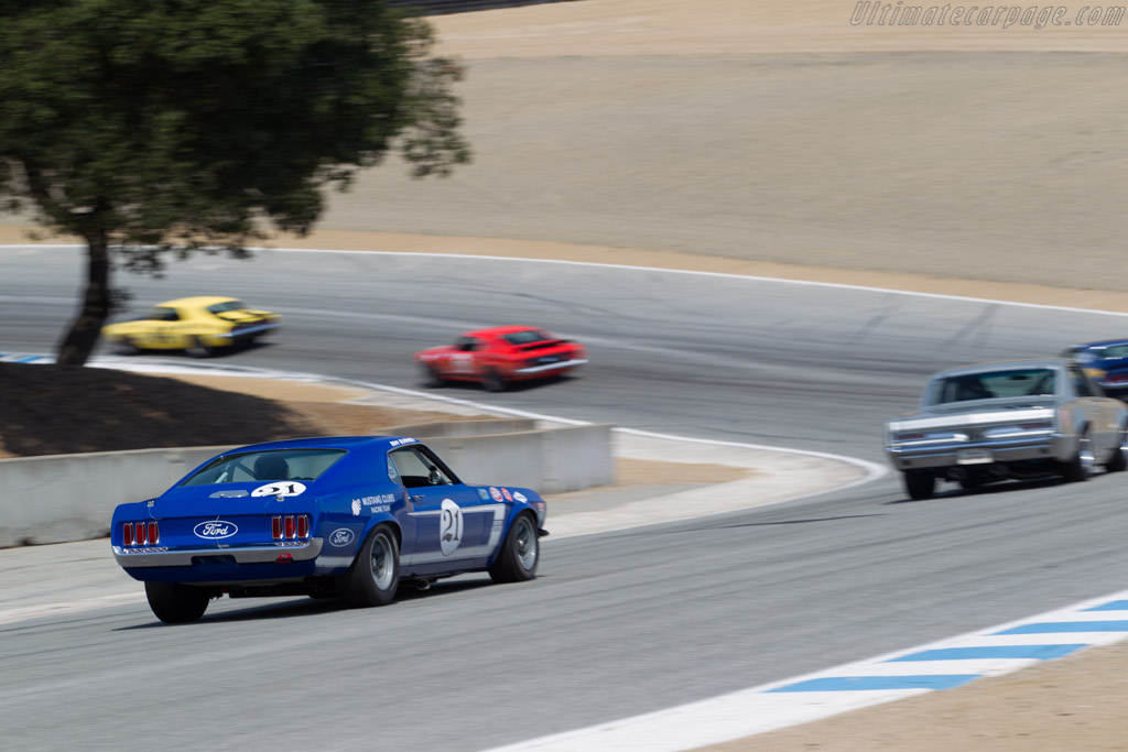 Ford Mustang Boss 302 - Chassis: 9FG2R112073 - Driver: Don Dimitriadis  - 2016 Monterey Motorsports Reunion
