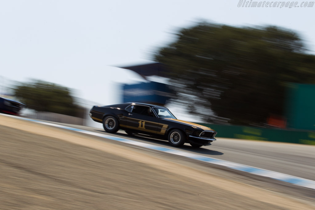 Ford Mustang Boss 302 - Chassis: 9F02M148626 - Driver: Ross Myers  - 2016 Monterey Motorsports Reunion