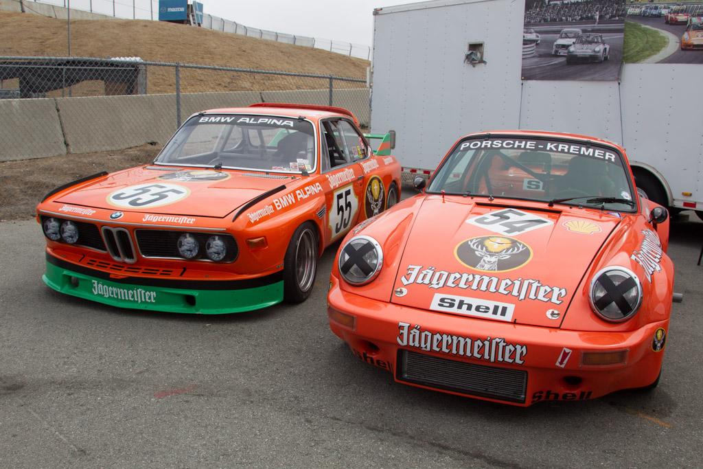 Jagermeister duo    - 2016 Monterey Motorsports Reunion