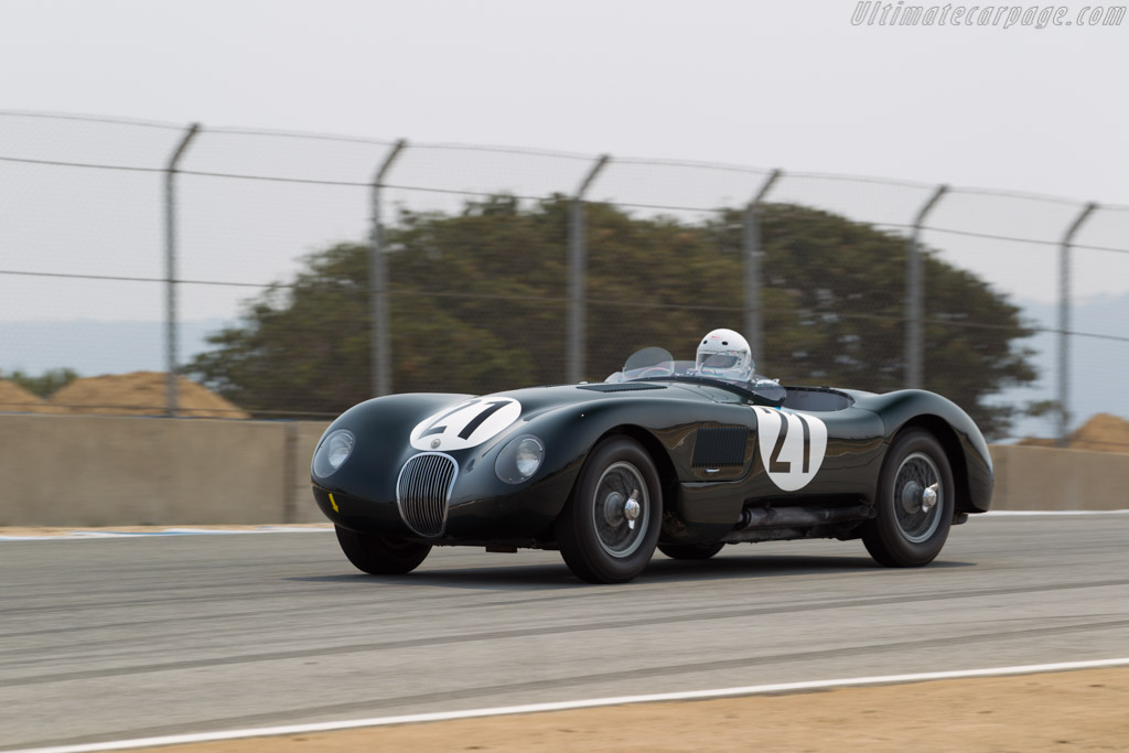 Car And Driver >> Jaguar C-Type - Chassis: XKC 050 - Entrant / Driver James Hulbert - 2016 Monterey Motorsports ...