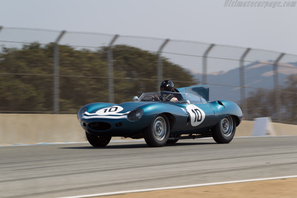 Jaguar D-Type - Chassis: XKD 502 - Entrant / Driver Charles Chadwyck-Healey  - 2016 Monterey Motorsports Reunion