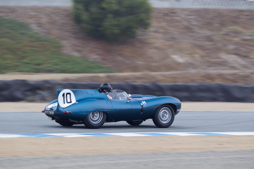 Jaguar D-Type - Chassis: XKD 502 - Entrant / Driver Chris MacAllister  - 2016 Monterey Motorsports Reunion