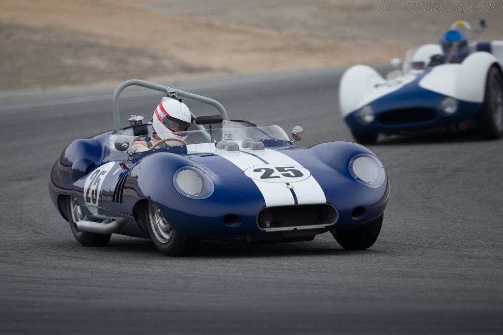 Lister Costin - Chassis: BHL 132 - Entrant / Driver Erickson Shirley  - 2016 Monterey Motorsports Reunion