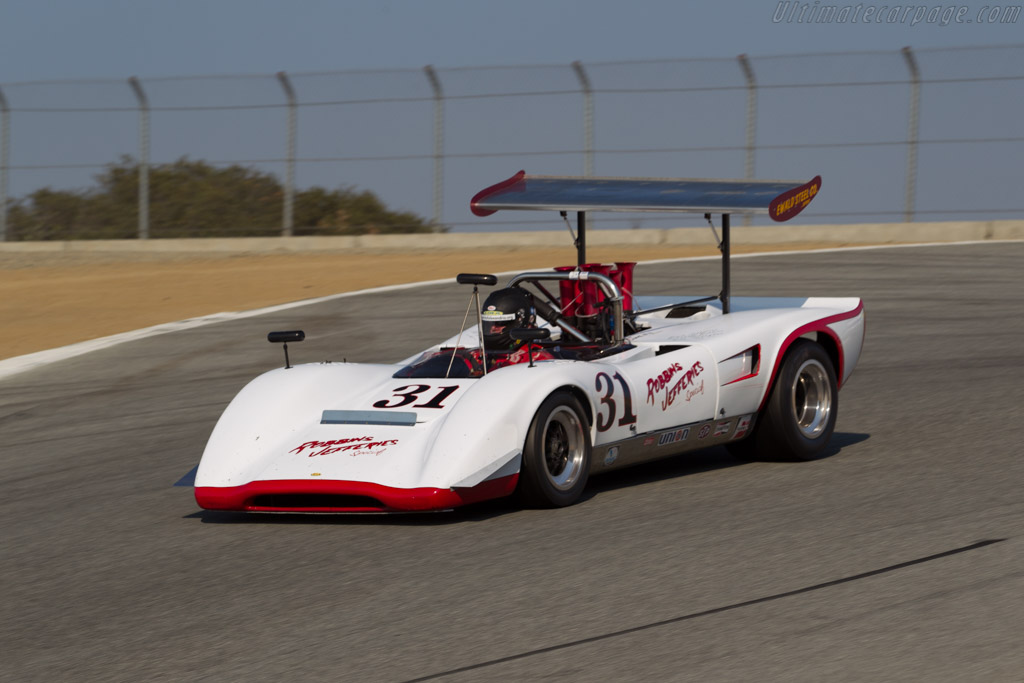 Lola T163 - Chassis: SL163/18 - Driver: Michael Moss  - 2016 Monterey Motorsports Reunion