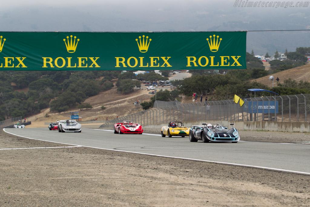 Lola T70 Spyder - Chassis: SL70/10 - Driver: Byron de Foor - 2016 Monterey Motorsports Reunion