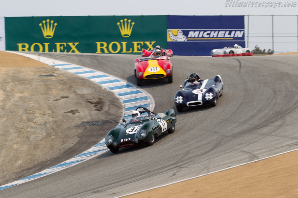 Lotus Eleven - Chassis: 212 - Entrant / Driver Stan Anderes  - 2016 Monterey Motorsports Reunion