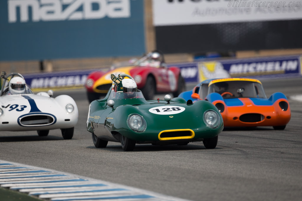 Lotus Eleven - Chassis: 220 - Entrant / Driver Mitch McCullough  - 2016 Monterey Motorsports Reunion