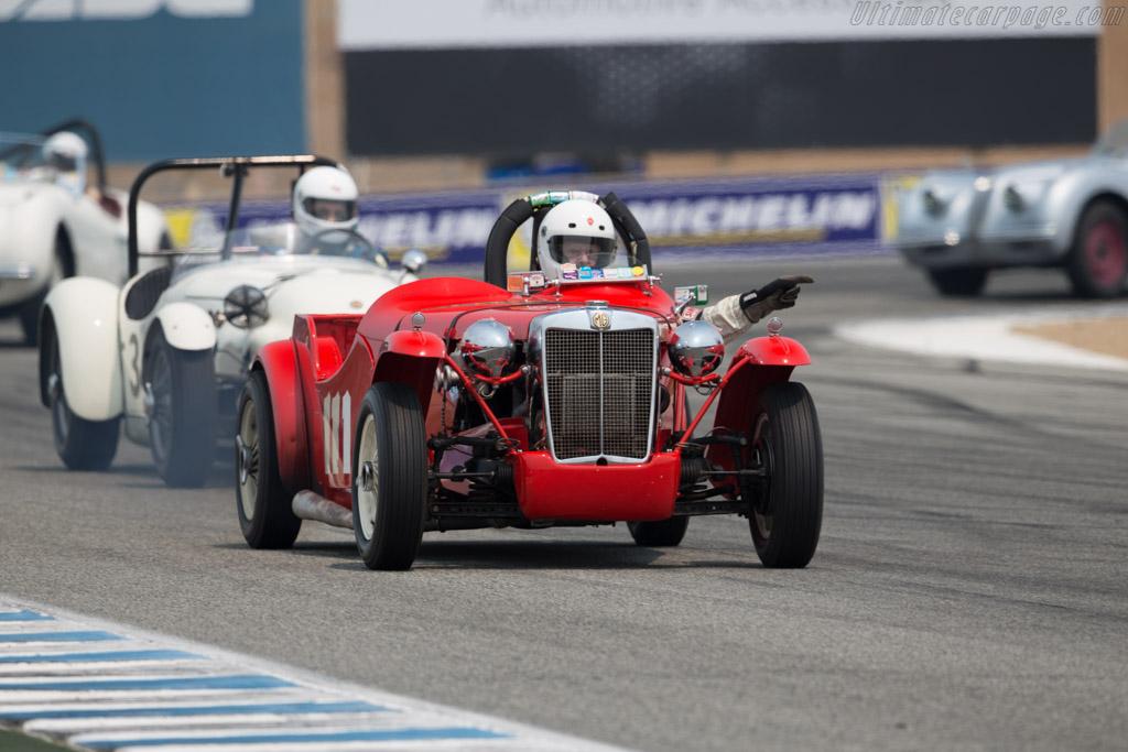 MGTD Von Neumann Special - Chassis: 1114 - Entrant / Driver Don Martine  - 2016 Monterey Motorsports Reunion