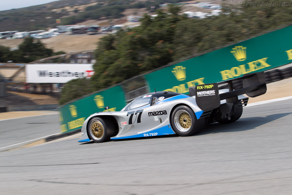 Mazda RX7-92P - Chassis: GTP 001 - Driver: Weldon Munsey  - 2016 Monterey Motorsports Reunion