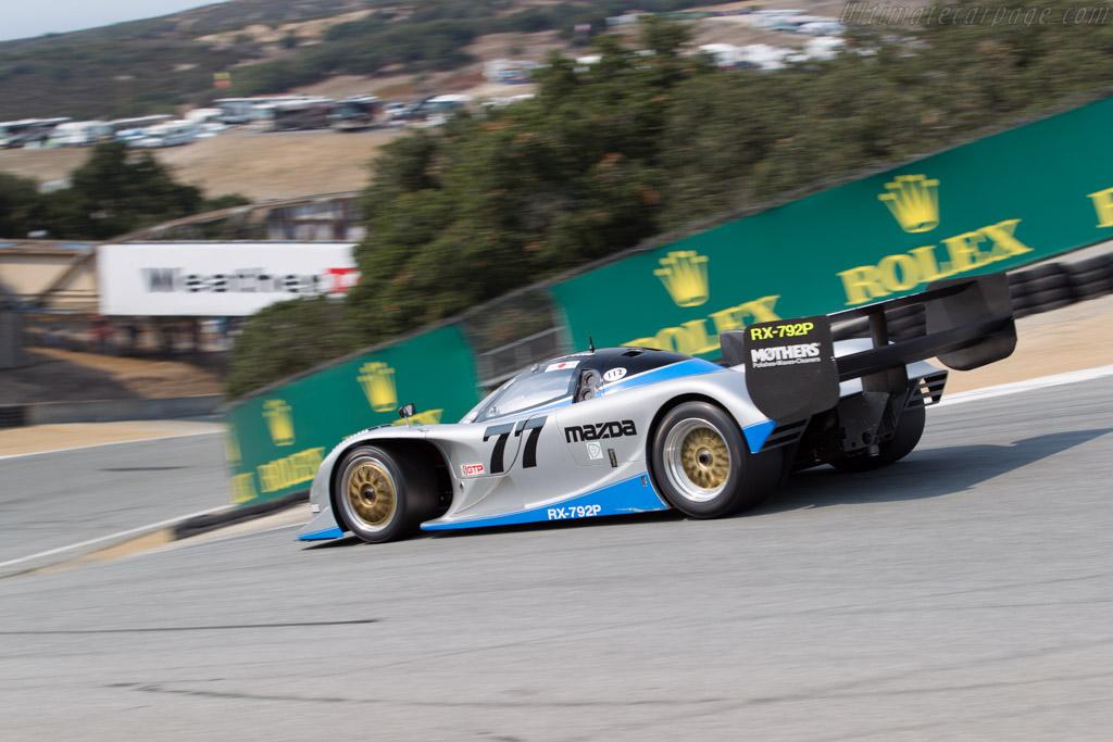 Mazda RX7-92P - Chassis: GTP 001 - Driver: Weldon Munsey  - 2016 Monterey Motorsports Reunion