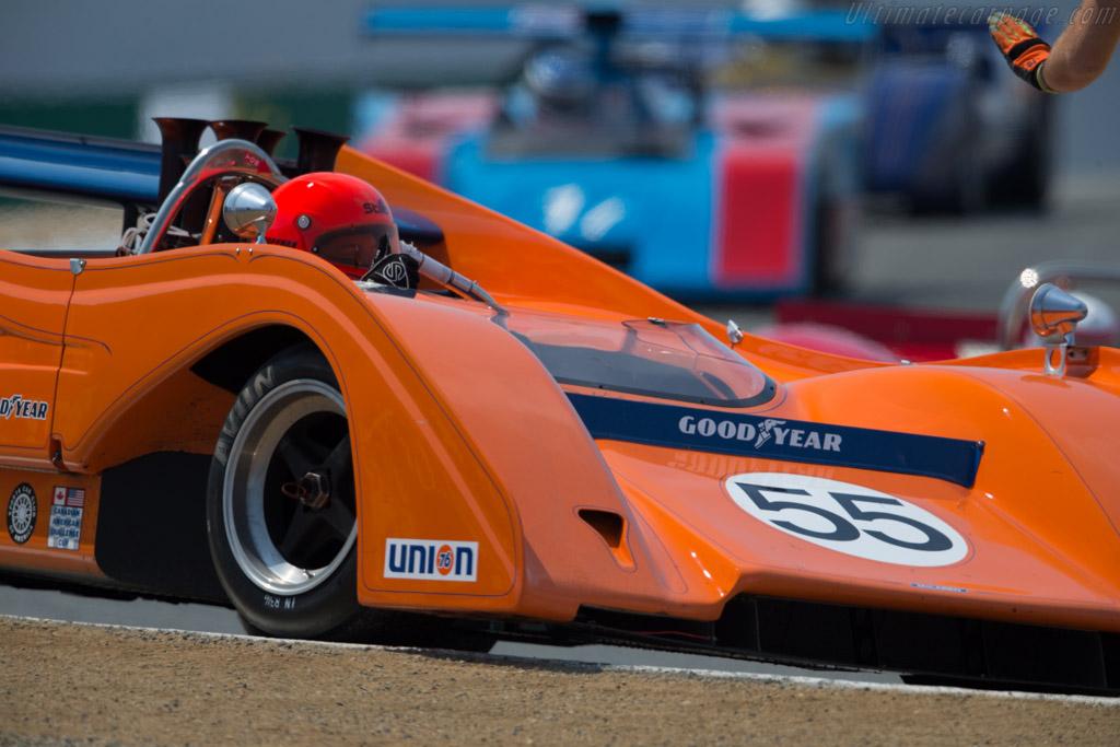 McLaren M8FP - Chassis: 1-72 - Driver: Robert Kaufmann  - 2016 Monterey Motorsports Reunion