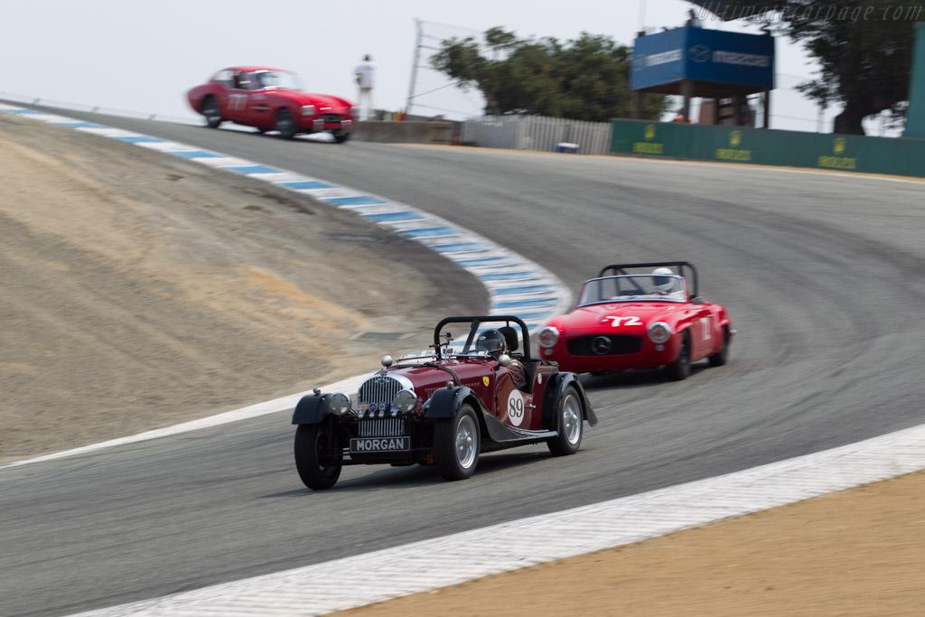Morgan Plus Four - Chassis: P2152 - Entrant / Driver John G. Miller  - 2016 Monterey Motorsports Reunion