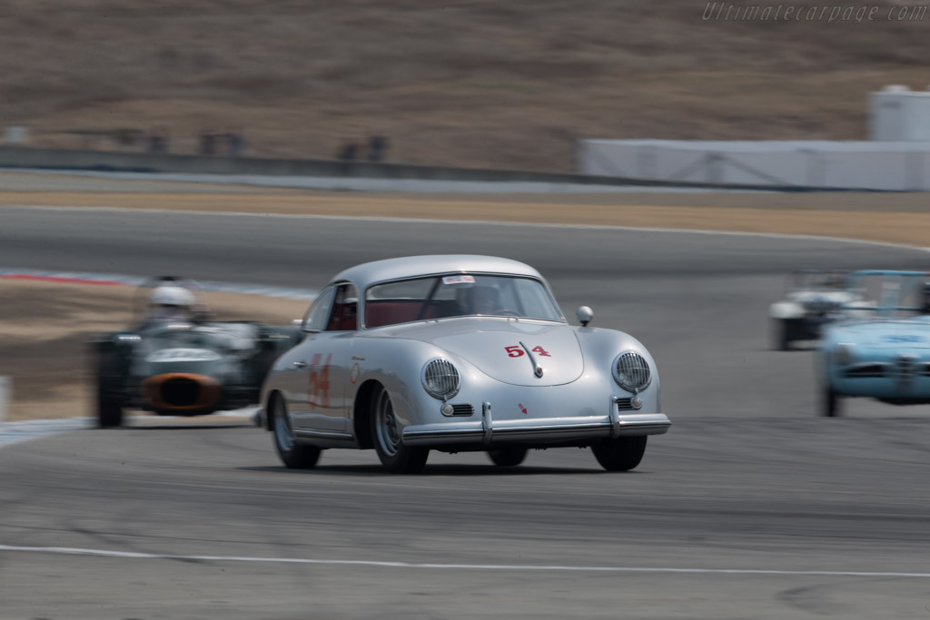 Porsche 1500 Super Continental - Chassis: 53297 - Entrant / Driver Clinton deWitt  - 2016 Monterey Motorsports Reunion