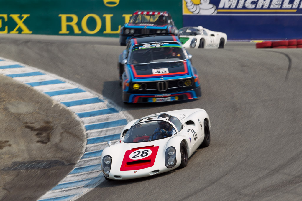 Porsche 910 - Chassis: 910-025 - Entrant / Driver Stephen Thein - 2016 Monterey Motorsports Reunion