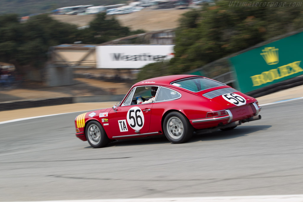 Porsche 911 - Chassis: 308107 - Entrant / Driver Don Ahearn  - 2016 Monterey Motorsports Reunion