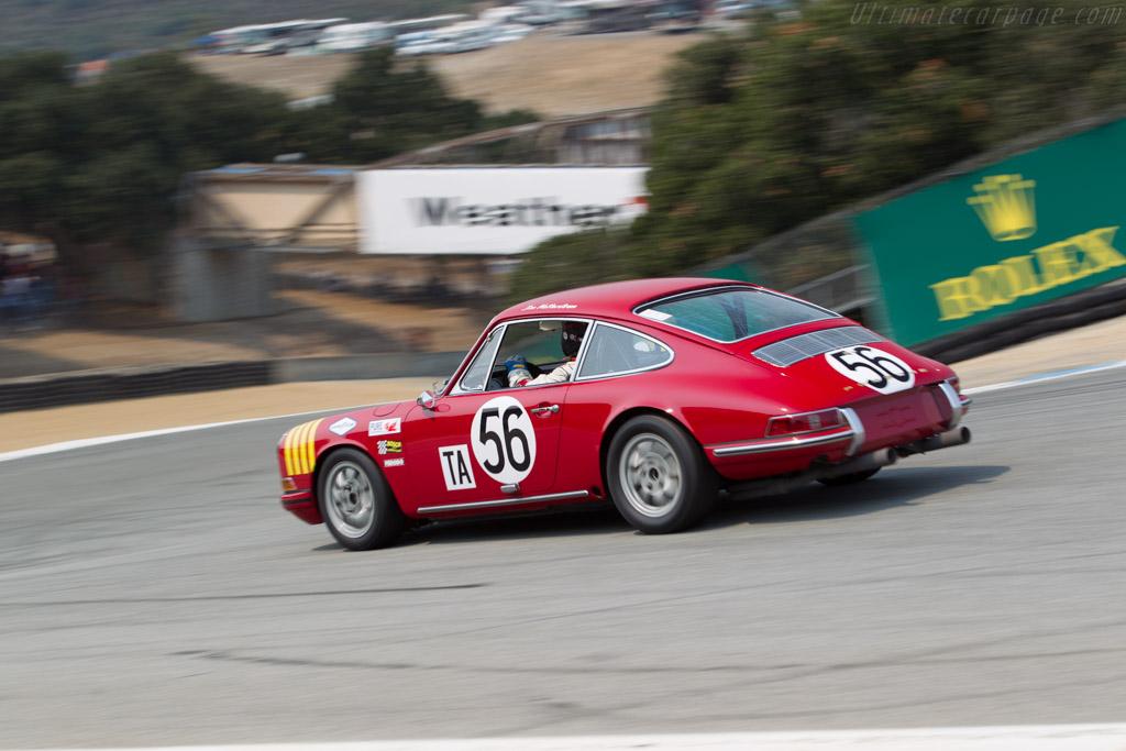 Porsche 911 - Chassis: 308107 - Entrant / Driver Don Ahearn - 2016 Monterey Motorsports Reunion