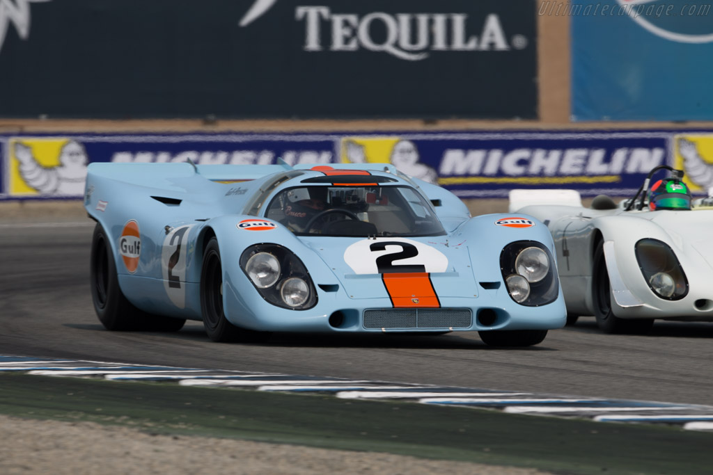 Porsche 917K  - Entrant / Driver Bruce Canepa  - 2016 Monterey Motorsports Reunion
