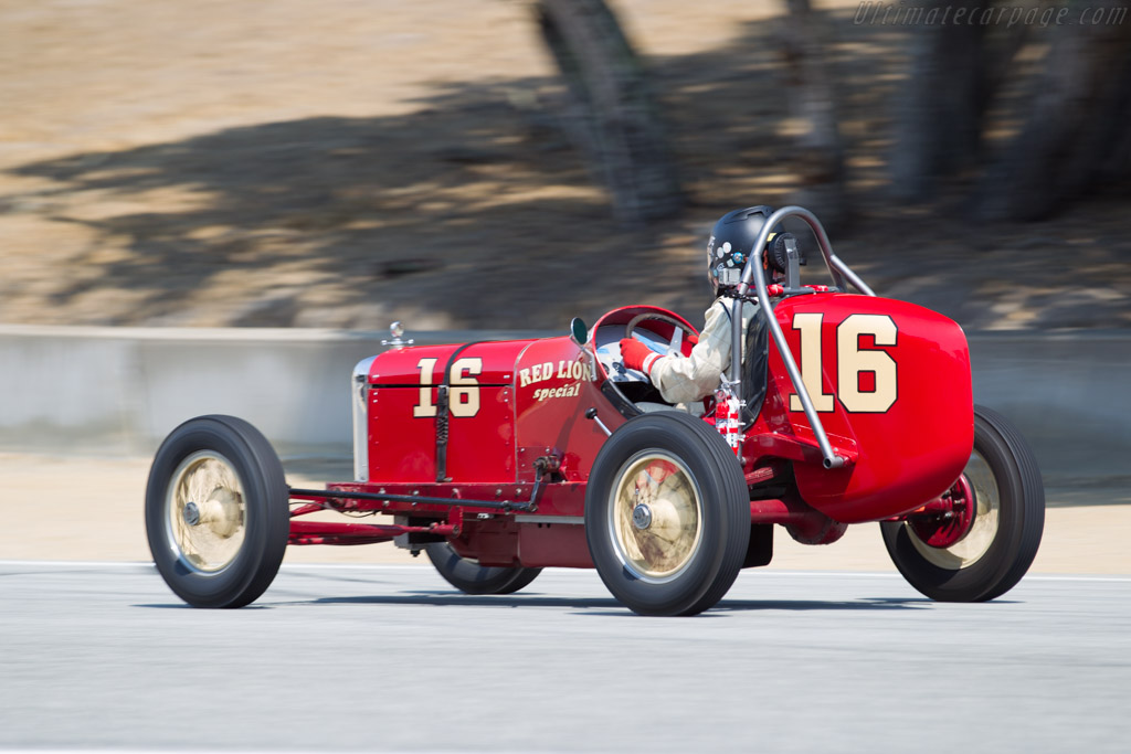 Riley-Ford Champ Car  - Entrant / Driver Greg Powell  - 2016 Monterey Motorsports Reunion