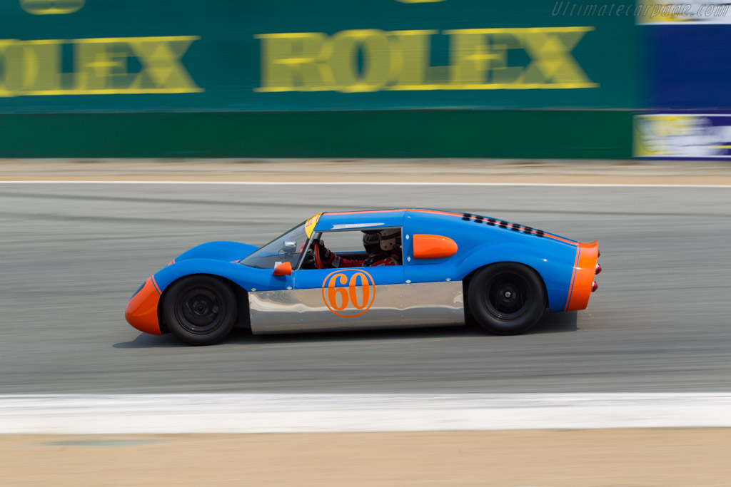 Seiler Quicksilver - Chassis: 002 - Entrant / Driver Kaid Marouf  - 2016 Monterey Motorsports Reunion