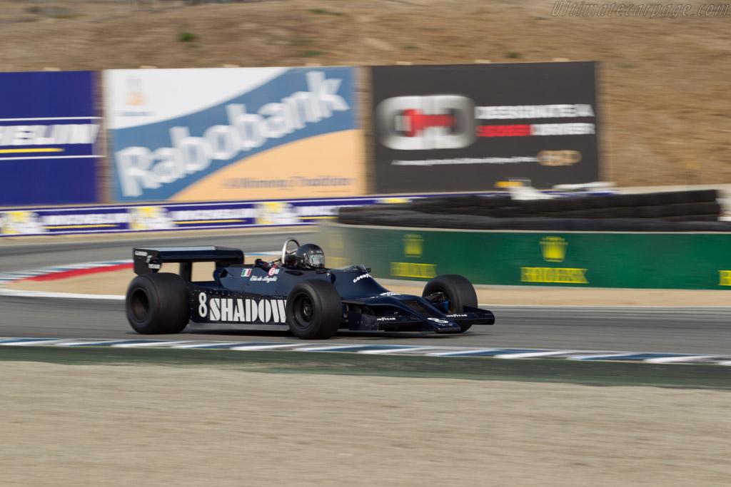 Shadow DN9  - Driver: Scott Drnek  - 2016 Monterey Motorsports Reunion