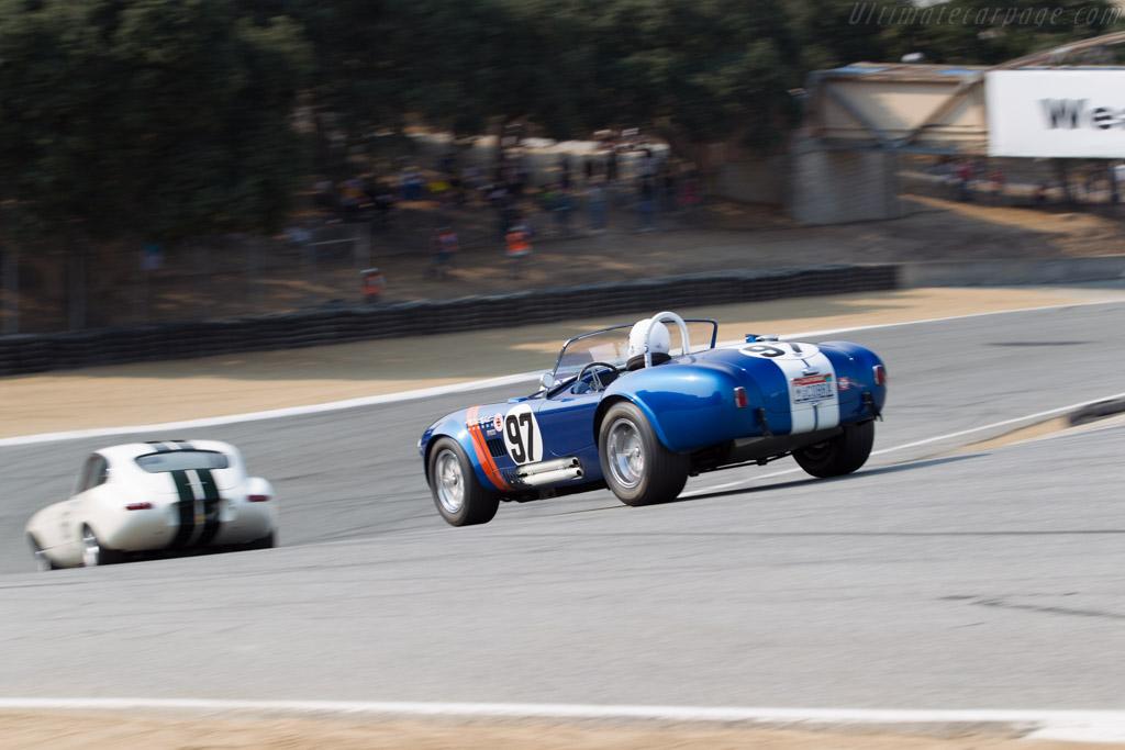 Shelby Cobra - Chassis: CSX2291 - Driver: Steve Park  - 2016 Monterey Motorsports Reunion