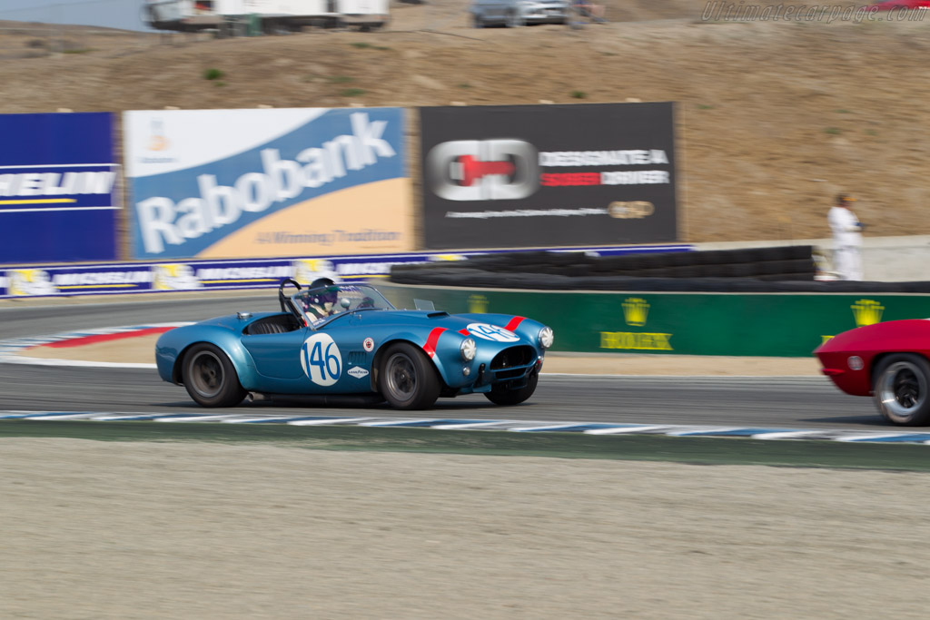 Shelby Cobra - Chassis: CSX2323 - Driver: Chris MacAllister  - 2016 Monterey Motorsports Reunion
