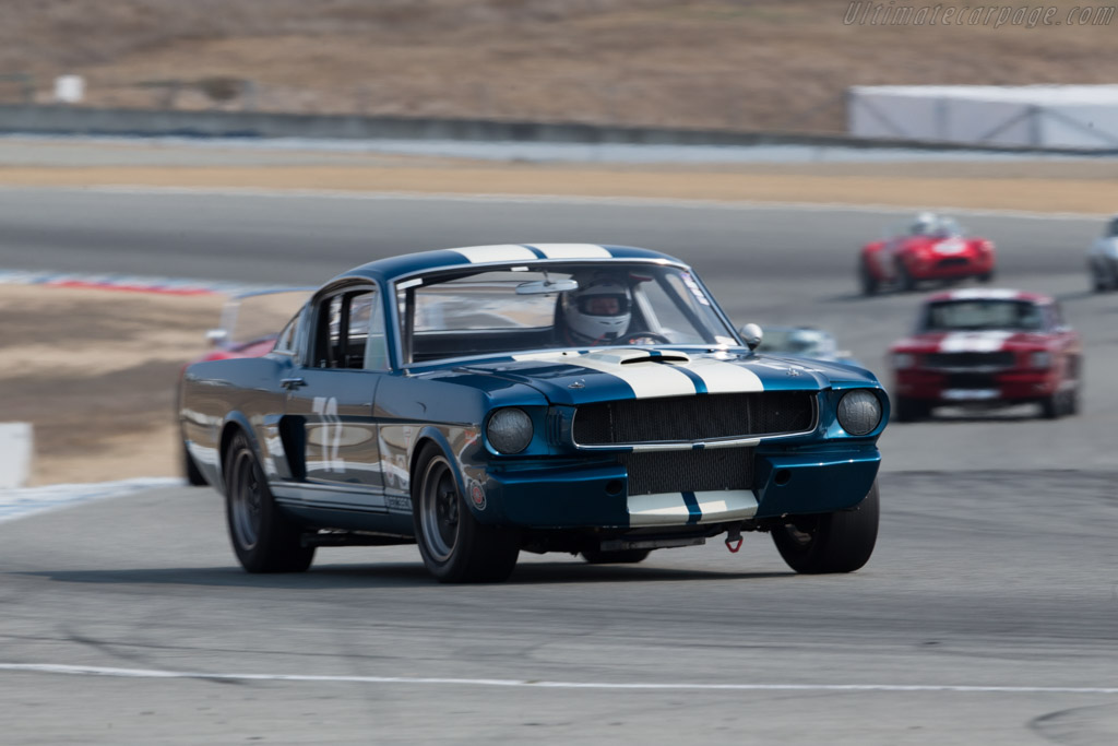 Shelby Mustang GT350  - Driver: Jonathan Ornstein  - 2016 Monterey Motorsports Reunion