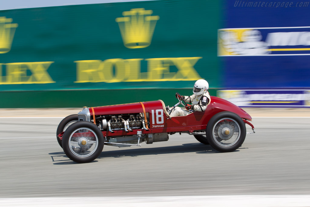 Sturtevant Special  - Entrant / Driver Brian Blain  - 2016 Monterey Motorsports Reunion