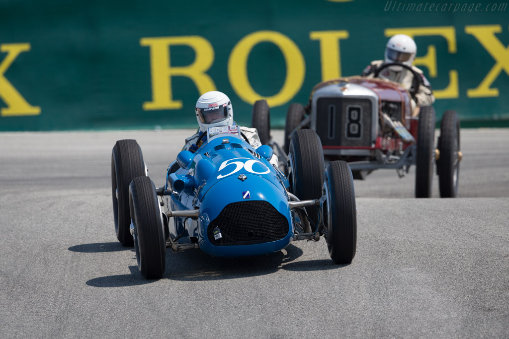 Talbot T26C - Chassis: 110052 - Entrant / Driver Peter Mullin  - 2016 Monterey Motorsports Reunion