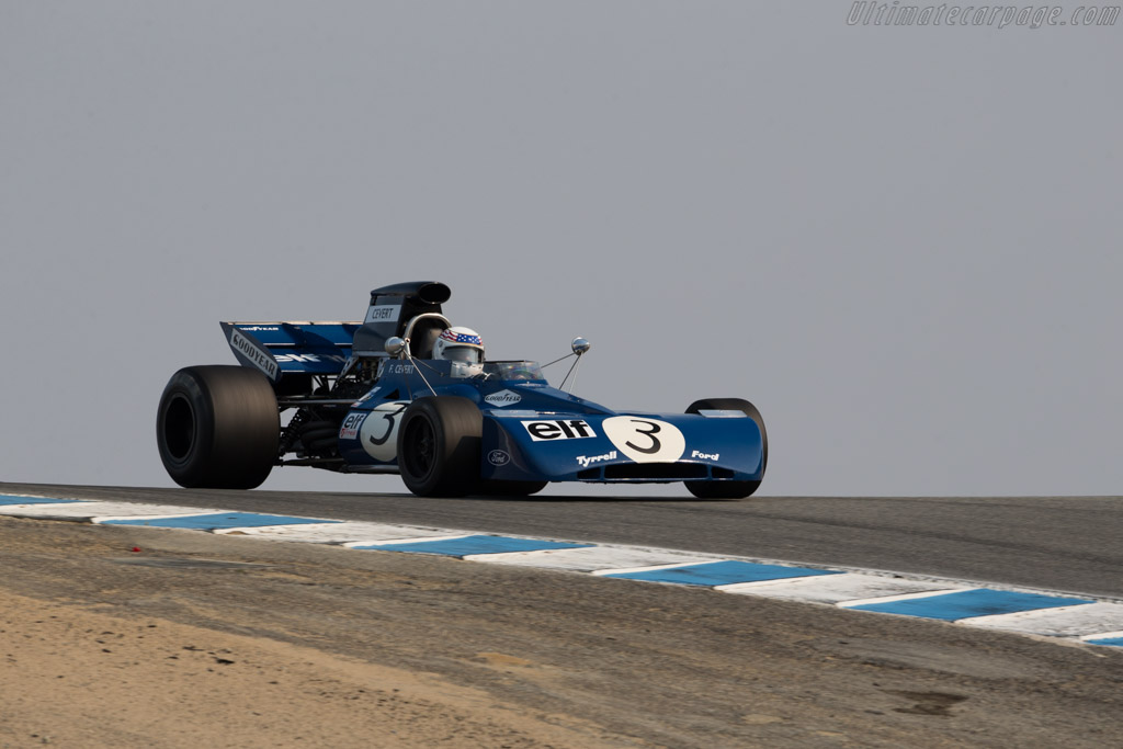Tyrrell 002 - Chassis: 002 - Driver: John Delane  - 2016 Monterey Motorsports Reunion