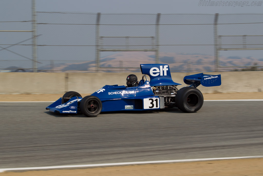 Tyrrell 007 - Chassis: 007/3 - Driver: Nicholas Colyvas  - 2016 Monterey Motorsports Reunion