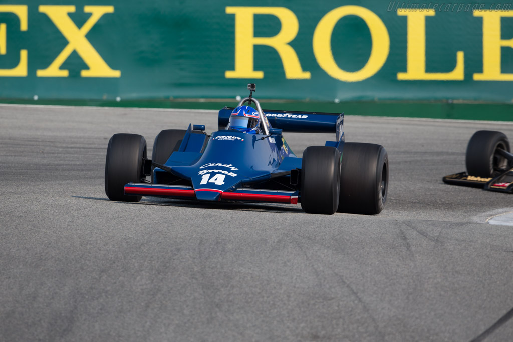 Tyrrell 009 - Chassis: 003 - Driver: Mike Thurlow  - 2016 Monterey Motorsports Reunion