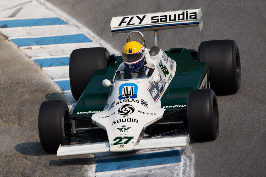 Williams FW07B Cosworth - Chassis: FW07B/06 - Driver: Charles Nearburg  - 2016 Monterey Motorsports Reunion