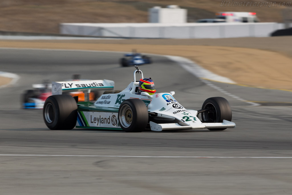 Williams FW07B Cosworth - Chassis: FW07B/07 - Driver: Zak Brown  - 2016 Monterey Motorsports Reunion