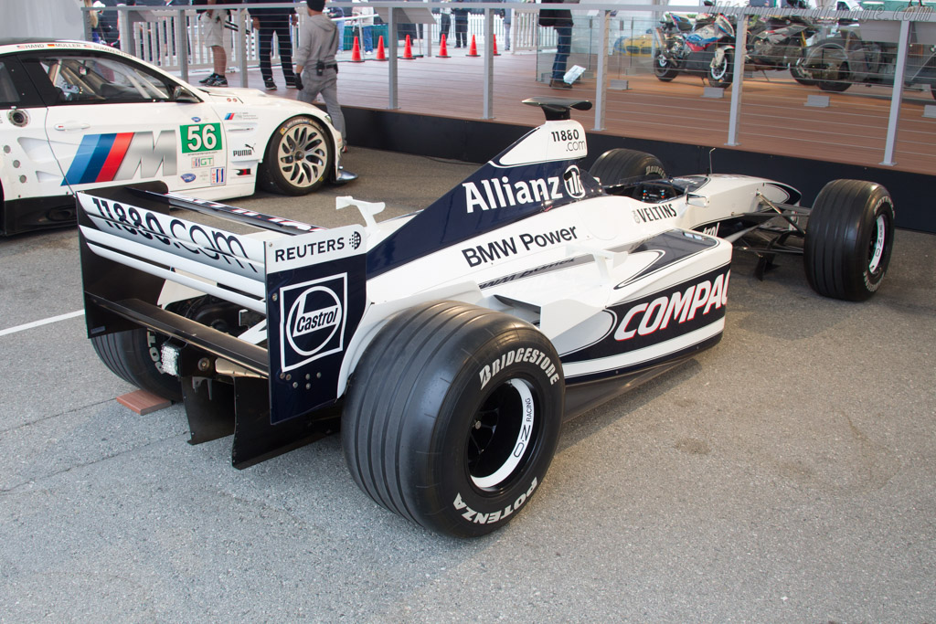 Williams FW22 BMW - Chassis: FW22-02   - 2016 Monterey Motorsports Reunion