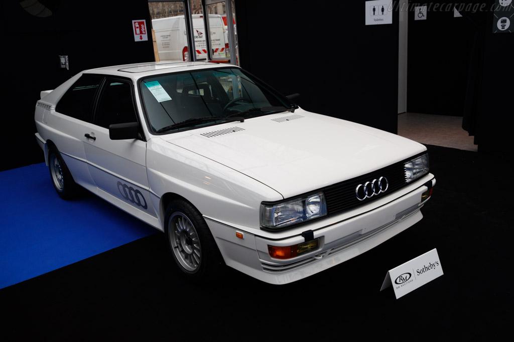 Audi Quattro - Chassis: WAUZZZ85ZFA900159  - 2019 Retromobile