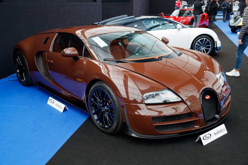 Bugatti Veyron 16.4 Super Sport - Chassis: VF9SG25243M795038   - 2019 Retromobile