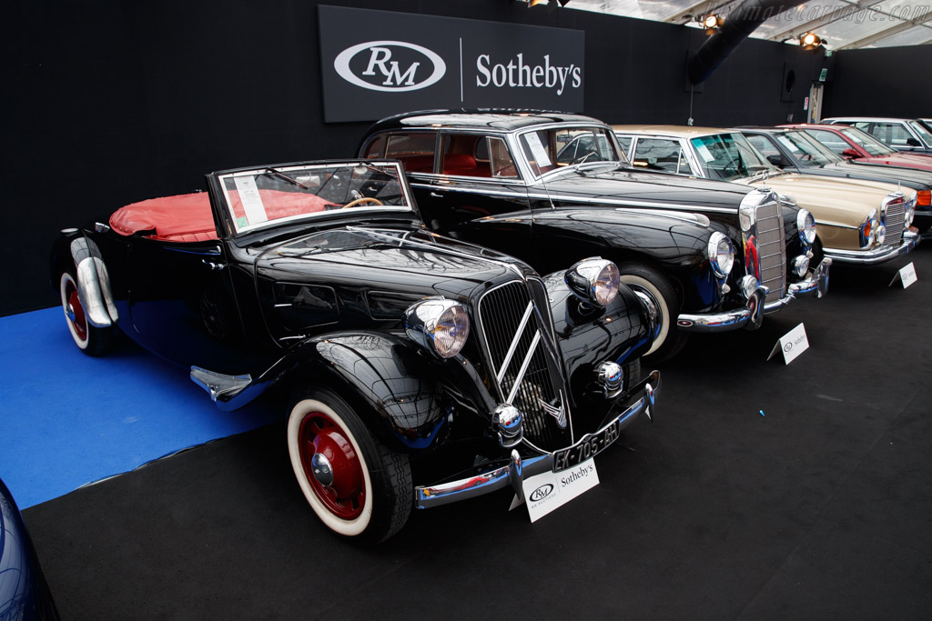 Citroën Traction 11B Cabriolet - Chassis: 149701  - 2019 Retromobile