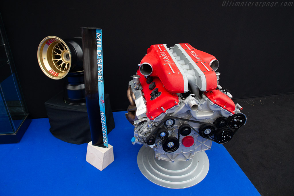 Ferrari FF Engine with stand   - 2019 Retromobile