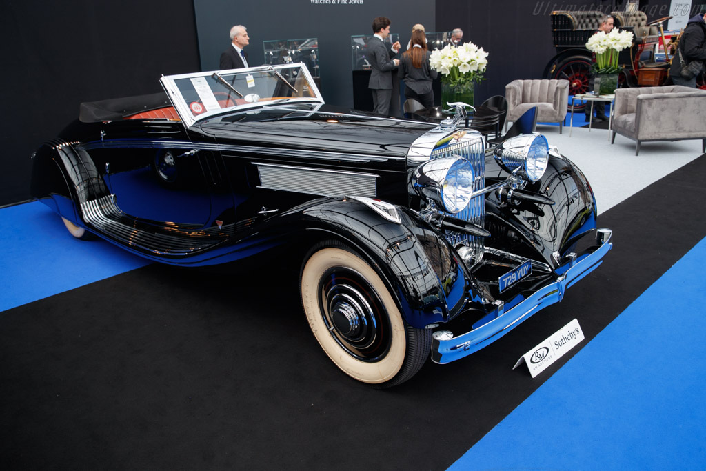 Hispano Suiza K6 Brandone Cabriolet - Chassis: 16035   - 2019 Retromobile