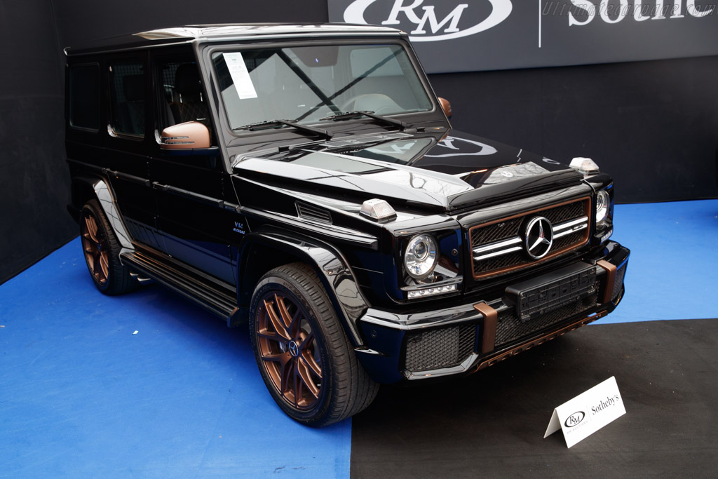 Mercedes-Benz G 65 AMG Final Edition - Chassis: WDC4632741X291804   - 2019 Retromobile