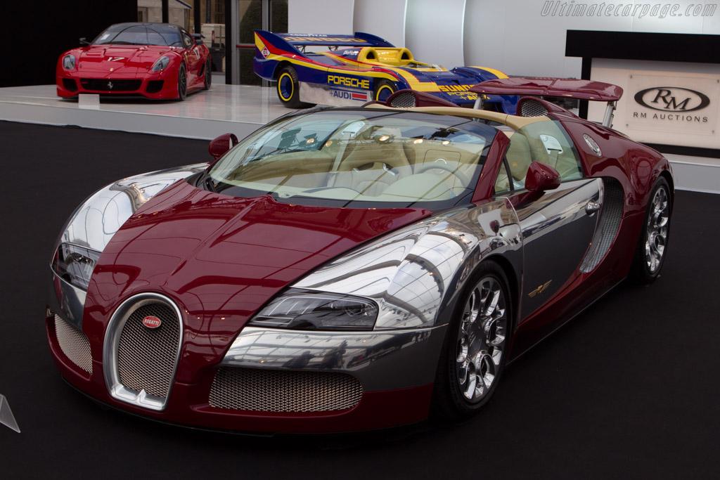 Bugatti Veyron Grand Sport - Chassis: VF9515K25241M795018   - 2014 Retromobile