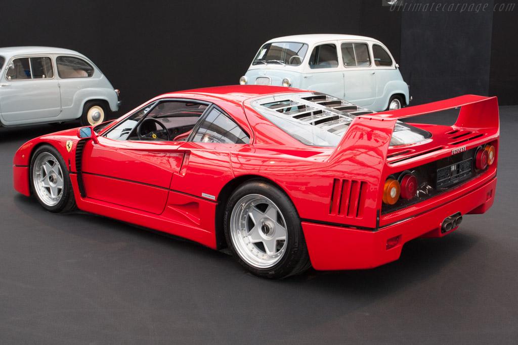 Ferrari F40 - Chassis: 82727   - 2014 Retromobile