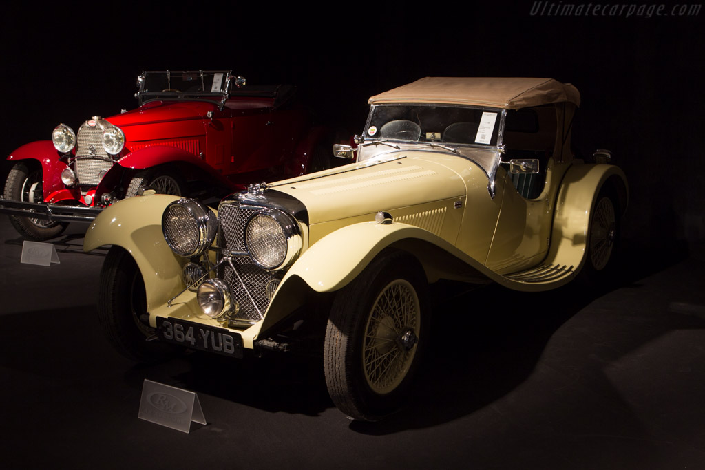 SS 100 Jaguar - Chassis: 18123   - 2014 Retromobile