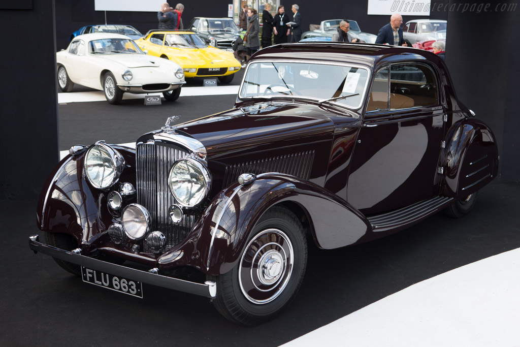 Bentley 4.25 Litre Park Ward Coupe - Chassis: B-30-MR   - 2015 Retromobile